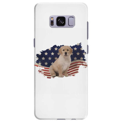 Golden Retriever American Flag Usa Patriotic  4th Of July Gift Samsung Galaxy S8 Plus Case Designed By Vip.pro123