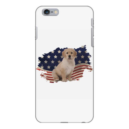 Golden Retriever American Flag Usa Patriotic  4th Of July Gift Iphone 6 Plus/6s Plus Case Designed By Vip.pro123