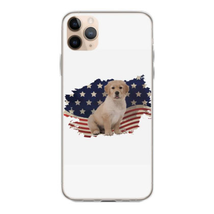 Golden Retriever American Flag Usa Patriotic  4th Of July Gift Iphone 11 Pro Max Case Designed By Vip.pro123