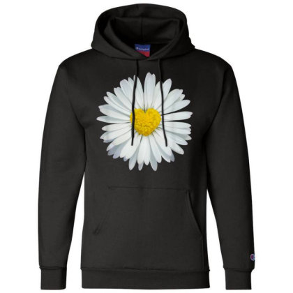 White And Yellow Heart Champion Hoodie Designed By Kakashop