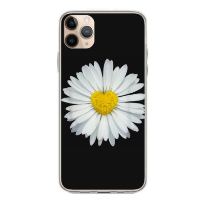White And Yellow Heart Iphone 11 Pro Max Case Designed By Kakashop