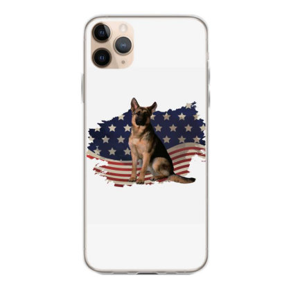 German Shepherd Dog American Flag Usa Patriotic  4th Of July Gift Iphone 11 Pro Max Case Designed By Vip.pro123