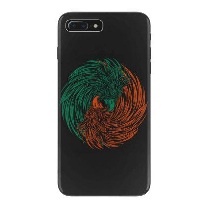 Eagle Yin Yang Consept Iphone 7 Plus Case Designed By Romancity