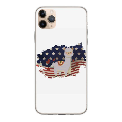 Llama American Flag Usa Patriotic  4th Of July Gift Iphone 11 Pro Max Case Designed By Vip.pro123