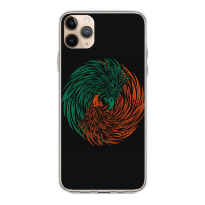 Eagle Yin Yang Consept Iphone 11 Pro Max Case Designed By Romancity