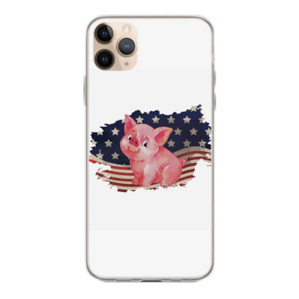 Pig American Flag Usa Patriotic  4th Of July Gift Iphone 11 Pro Max Case Designed By Vip.pro123