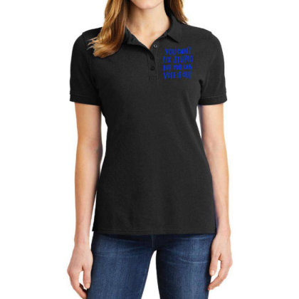 You Can't Fix Stupid But You Can Vote It Out Ladies Polo Shirt Designed By Kakashop