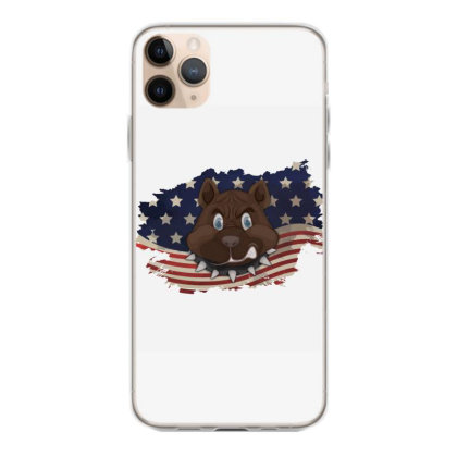 Pitbull American Flag Usa Patriotic  4th Of July Gift Iphone 11 Pro Max Case Designed By Vip.pro123