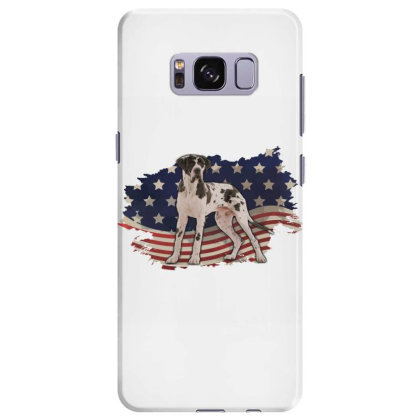 Pointer American Flag Usa Patriotic  4th Of July Gift Samsung Galaxy S8 Plus Case Designed By Vip.pro123