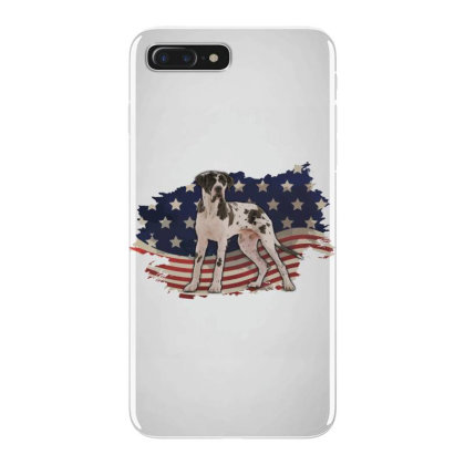 Pointer American Flag Usa Patriotic  4th Of July Gift Iphone 7 Plus Case Designed By Vip.pro123