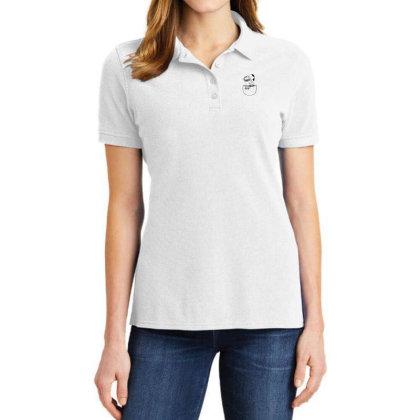 Catana Pocket Lamp Ladies Polo Shirt Designed By Crystal_13