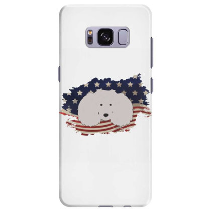 Poodle American Flag Usa Patriotic  4th Of July Gift Samsung Galaxy S8 Plus Case Designed By Vip.pro123