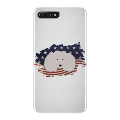 Poodle American Flag Usa Patriotic  4th Of July Gift Iphone 7 Plus Case Designed By Vip.pro123