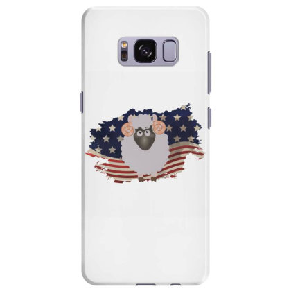 Sheep American Flag Usa Patriotic  4th Of July Gift Samsung Galaxy S8 Plus Case Designed By Vip.pro123