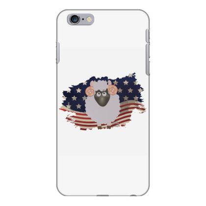 Sheep American Flag Usa Patriotic  4th Of July Gift Iphone 6 Plus/6s Plus Case Designed By Vip.pro123