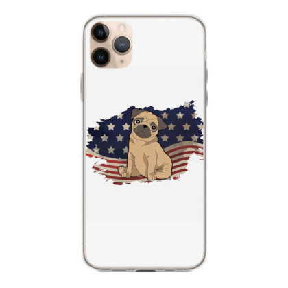 Pug American Flag Usa Patriotic  4th Of July Gift Iphone 11 Pro Max Case Designed By Vip.pro123