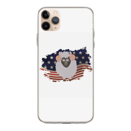 Sheep American Flag Usa Patriotic  4th Of July Gift Iphone 11 Pro Max Case Designed By Vip.pro123