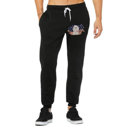 Shih Tzu American Flag Usa Patriotic  4th Of July Gift Unisex Jogger Designed By Vip.pro123