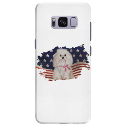 Shih Tzu American Flag Usa Patriotic  4th Of July Gift Samsung Galaxy S8 Plus Case Designed By Vip.pro123