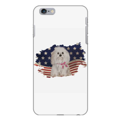 Shih Tzu American Flag Usa Patriotic  4th Of July Gift Iphone 6 Plus/6s Plus Case Designed By Vip.pro123