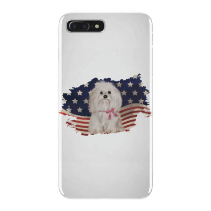 Shih Tzu American Flag Usa Patriotic  4th Of July Gift Iphone 7 Plus Case Designed By Vip.pro123