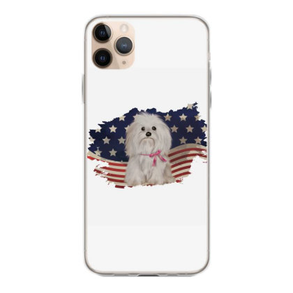 Shih Tzu American Flag Usa Patriotic  4th Of July Gift Iphone 11 Pro Max Case Designed By Vip.pro123