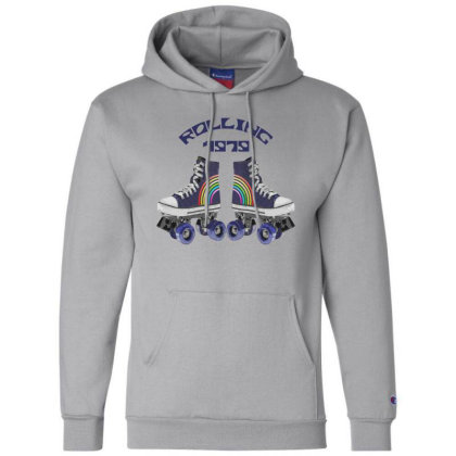 Retro Rolling Champion Hoodie Designed By Chiks