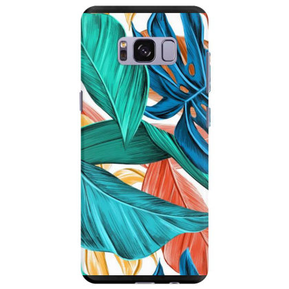 Leaves Art Samsung Galaxy S8 Plus Case Designed By Chiks
