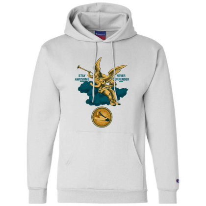 Sound Of Earth Champion Hoodie Designed By Spoilerinc