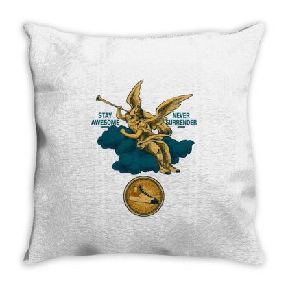 Sound Of Earth Throw Pillow Designed By Spoilerinc