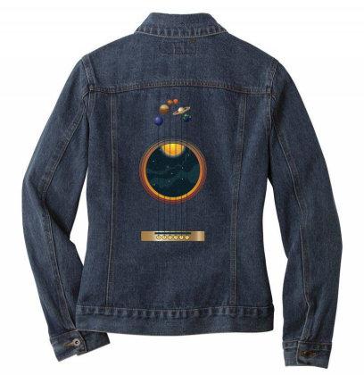 Guitarist Life: Space Music Ladies Denim Jacket Designed By Podanytime