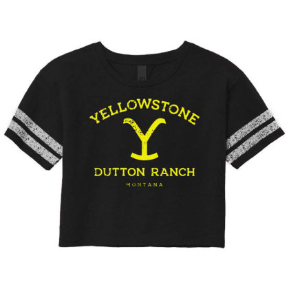 Yellowstone Scorecard Crop Tee Designed By Shirt1na