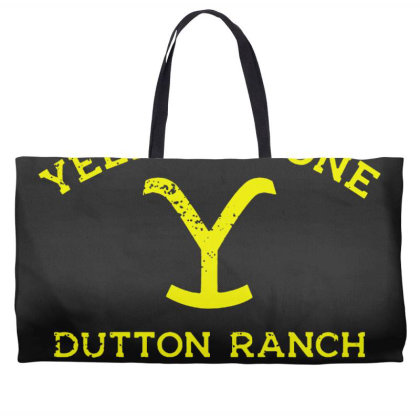 Yellowstone Weekender Totes Designed By Shirt1na