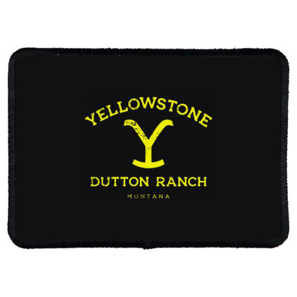 Yellowstone Rectangle Patch Designed By Shirt1na