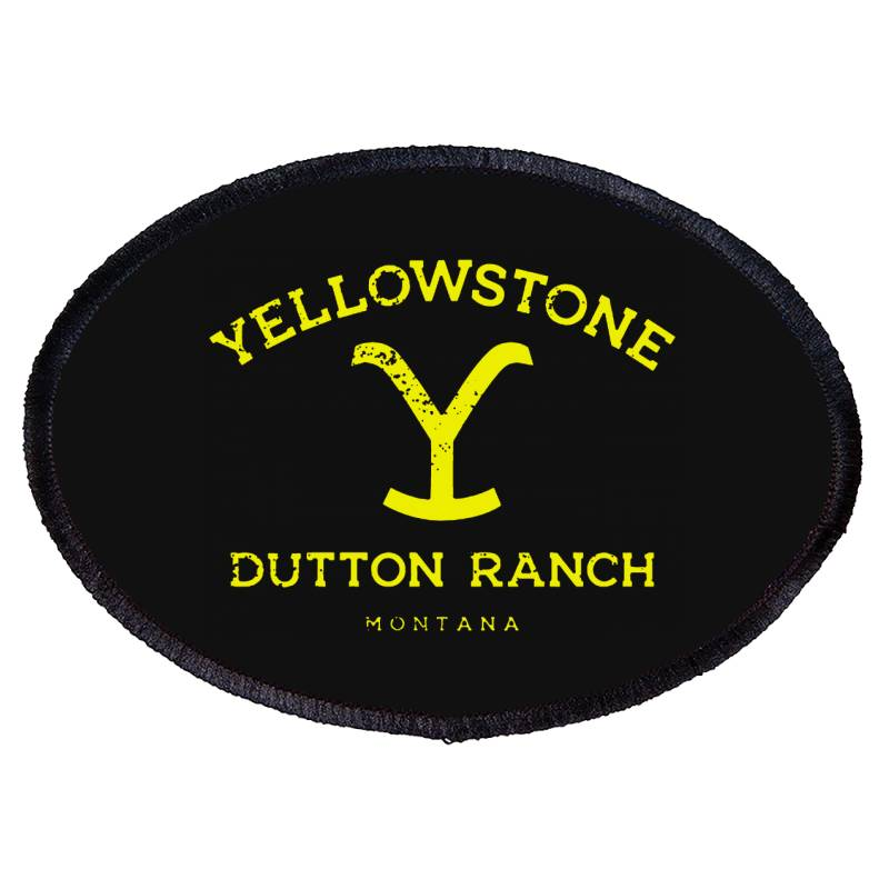 Yellowstone Oval Patch | Artistshot