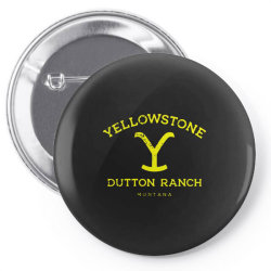 yellowstone Pin-back button | Artistshot