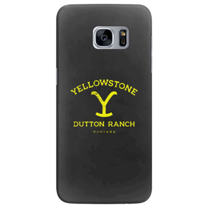 Yellowstone Samsung Galaxy S7 Edge Case Designed By Shirt1na