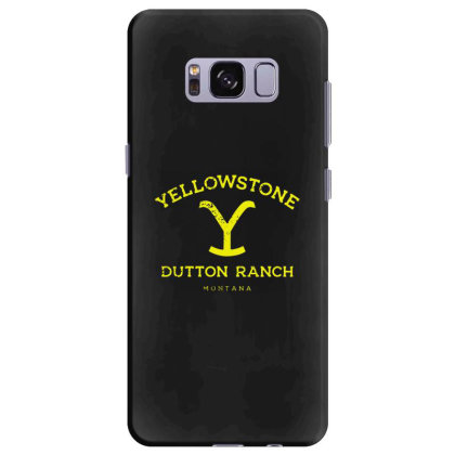 Yellowstone Samsung Galaxy S8 Plus Case Designed By Shirt1na