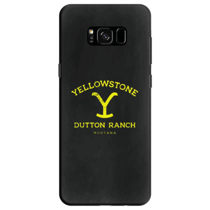 Yellowstone Samsung Galaxy S8 Case Designed By Shirt1na