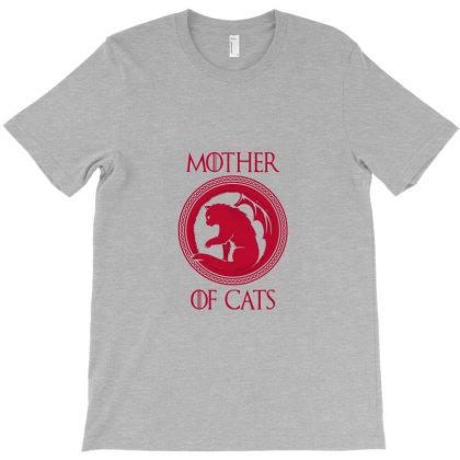 Mother Cat T-shirt Designed By Dyona Asmarani