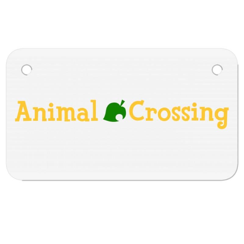 Animal Crossing Motorcycle License Plate | Artistshot