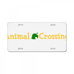 animal crossing License Plate | Artistshot