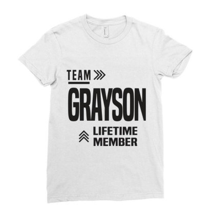 Grayson Ladies Fitted T-shirt Designed By Chris Ceconello