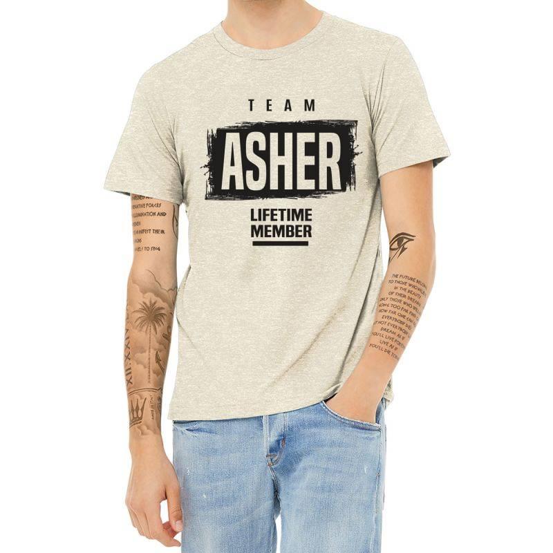 Asher Heather T-shirt | Artistshot