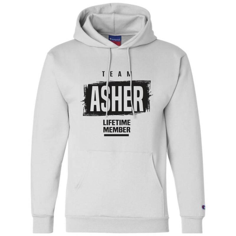 Asher Champion Hoodie | Artistshot