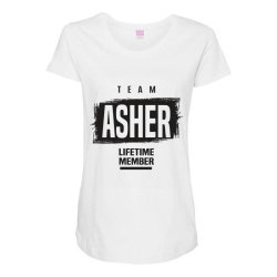 Asher Maternity Scoop Neck T-shirt | Artistshot