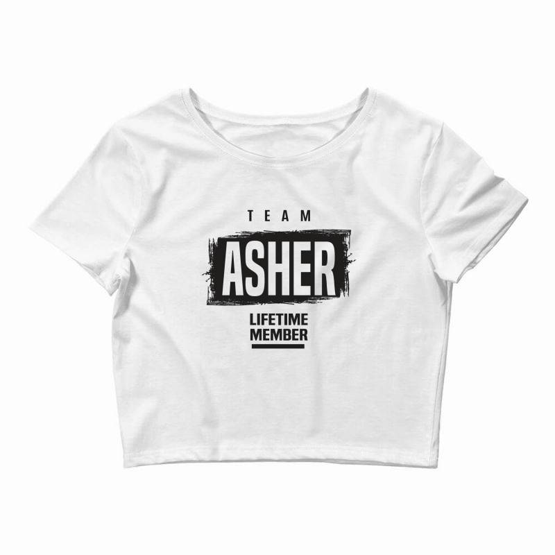 Asher Crop Top | Artistshot