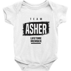Asher Baby Bodysuit | Artistshot