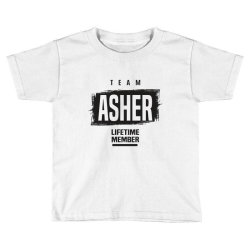 Asher Toddler T-shirt | Artistshot