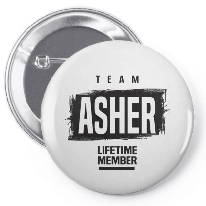 Asher Pin-back Button Designed By Chris Ceconello